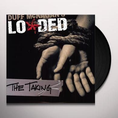 Duff Mckagan TAKING Vinyl Record