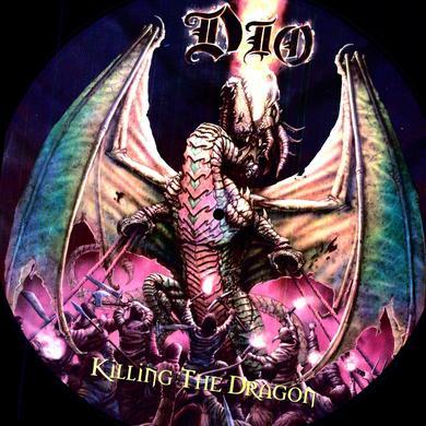 Dio KILLING THE DRAGON Vinyl Record - Picture Disc, Remastered