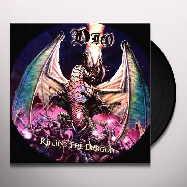 Dio KILLING THE DRAGON Vinyl Record - Picture Disc, Remastered