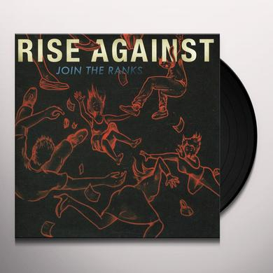 Rise Against JOIN THE RANKS Vinyl Record
