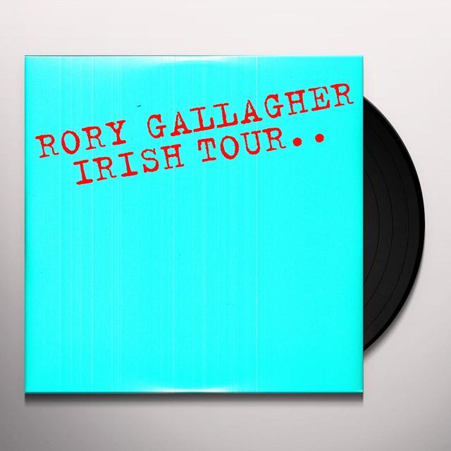 Rory Gallagher IRISH TOUR 74 Vinyl Record