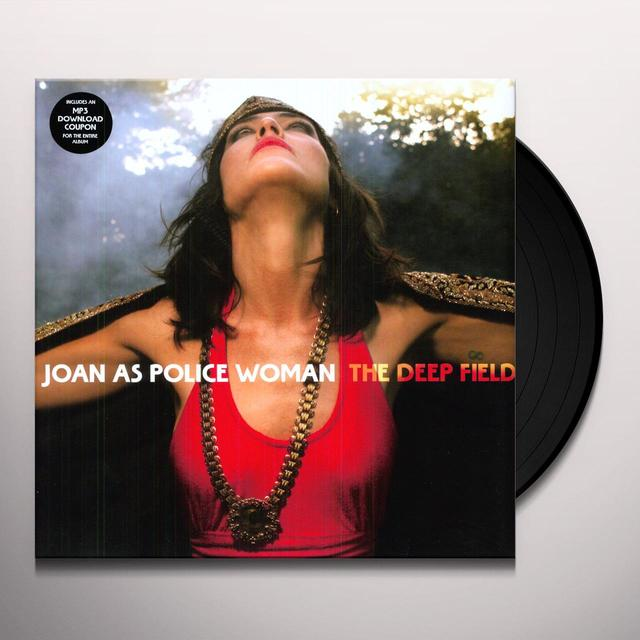 Joan As Police Woman DEEP FIELD Vinyl Record