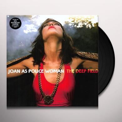 Joan As Police Woman DEEP FIELD Vinyl Record