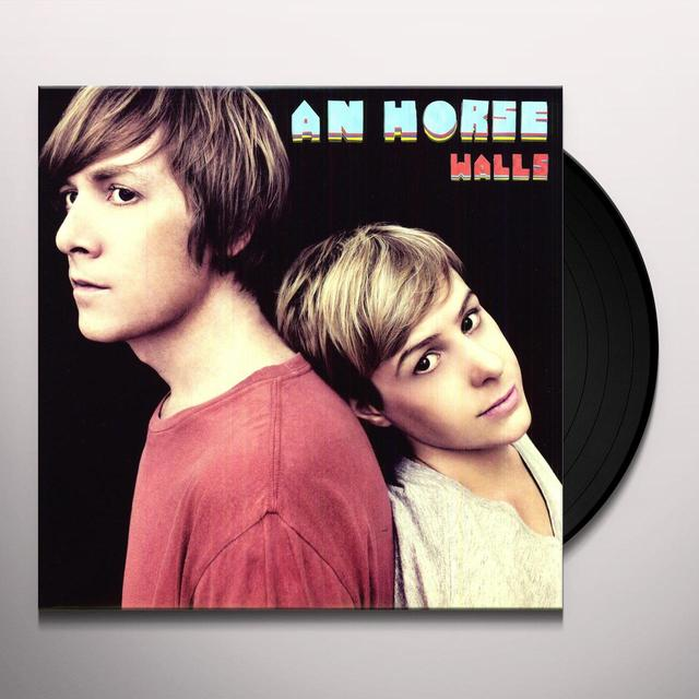 An Horse WALLS Vinyl Record - 180 Gram Pressing, MP3 Download Included