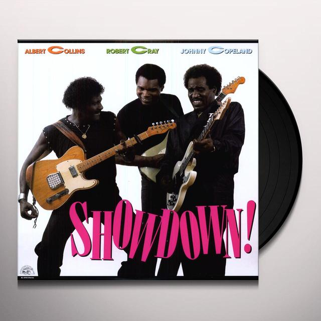 Albert Collins / Robert Cray / Johnny Copeland SHOWDOWN (BONUS TRACK) Vinyl Record