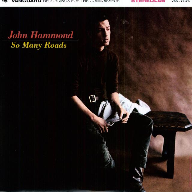 John Hammond SO MANY ROADS Vinyl Record