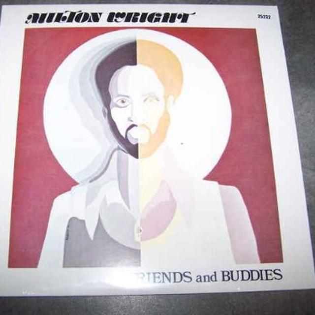 Milton Wright FRIENDS & BUDDIES Vinyl Record