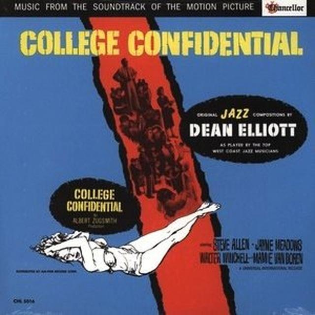 Dean Elliott COLLEGE CONFIDENTIAL SOUNDTRACK Vinyl Record