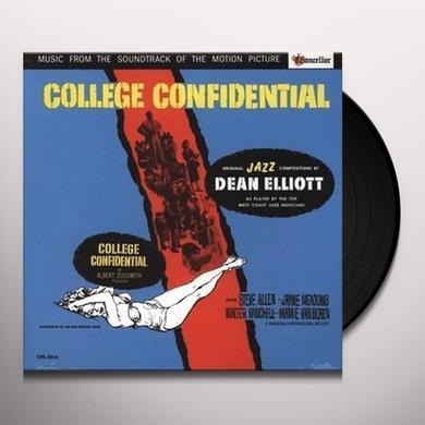 Dean Elliott COLLEGE CONFIDENTIAL SOUNDTRACK Vinyl Record