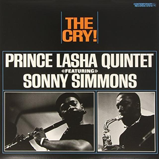 Prince Lasha / Sonny Simmons CRY Vinyl Record