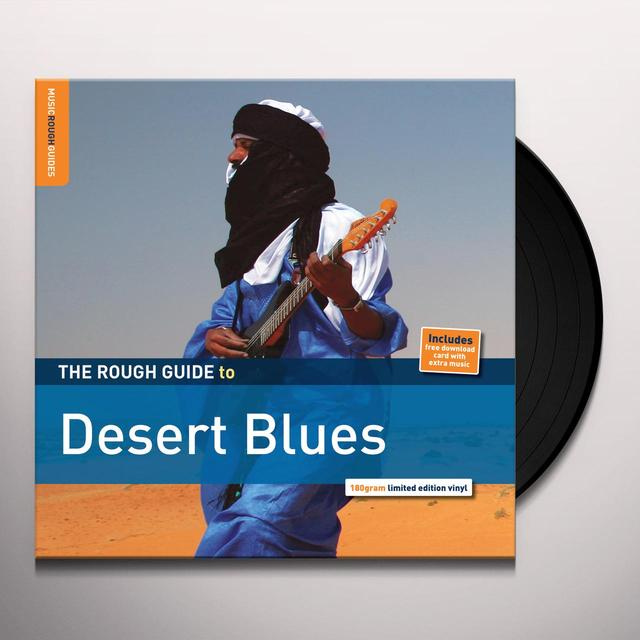 Rough Guide To Desert Blues / Various (Dlcd) (Ltd) ROUGH GUIDE TO DESERT BLUES / VARIOUS Vinyl Record - Limited Edition, 180 Gram Pressing