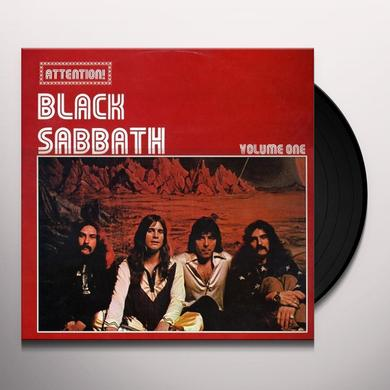 ATTENTION BLACK SABBATH 1 Vinyl Record