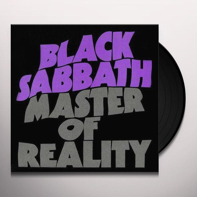 Black Sabbath MASTER OF REALITY Vinyl Record - 180 Gram Pressing