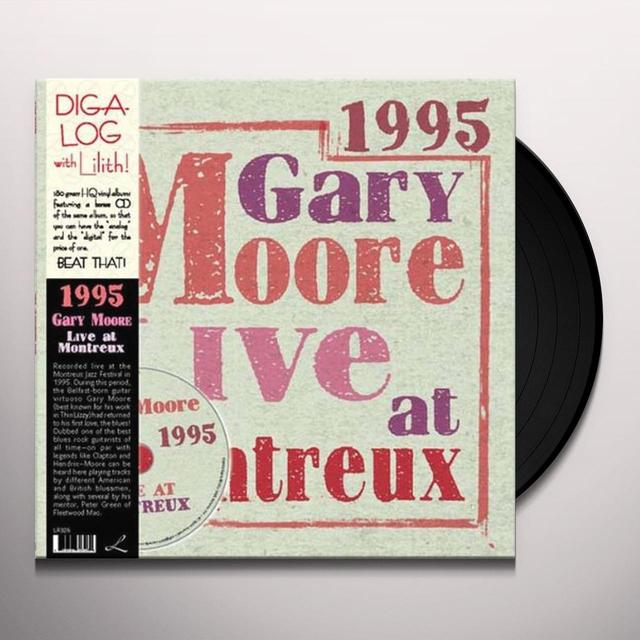 Gary Moore LIVE AT MONTREUX 1995 Vinyl Record - 180 Gram Pressing