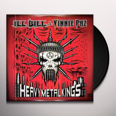 Vinnie Ill Bill / Paz HEAVY METAL KINGS Vinyl Record