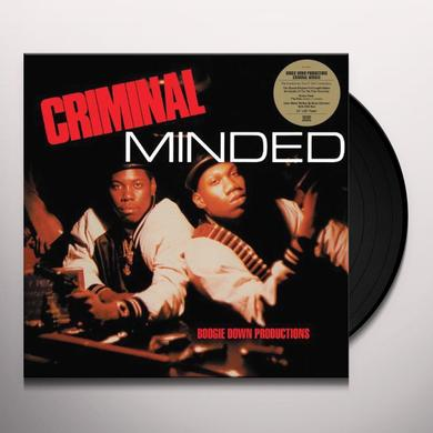 Boogie Down Productions CRIMINAL MINDED Vinyl Record - Remastered