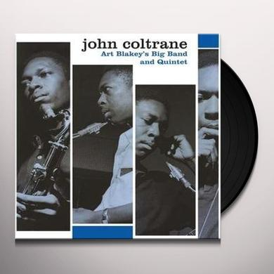 John Coltrane ART BLAKEYS BIG BAND AND Vinyl Record