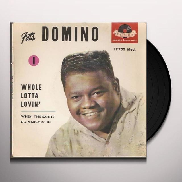 Fats Domino WHOLE LOTTA LOVIN' Vinyl Record