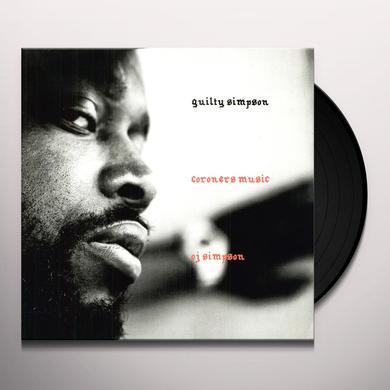 Guilty Simpson CORONER'S MUSIC Vinyl Record