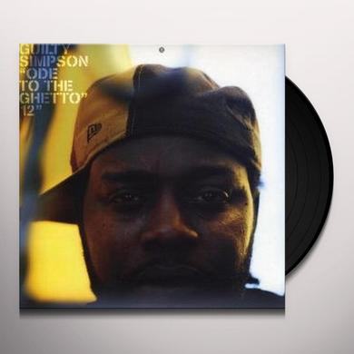 Guilty Simpson ODE TO GHETTO / ROBBERY Vinyl Record