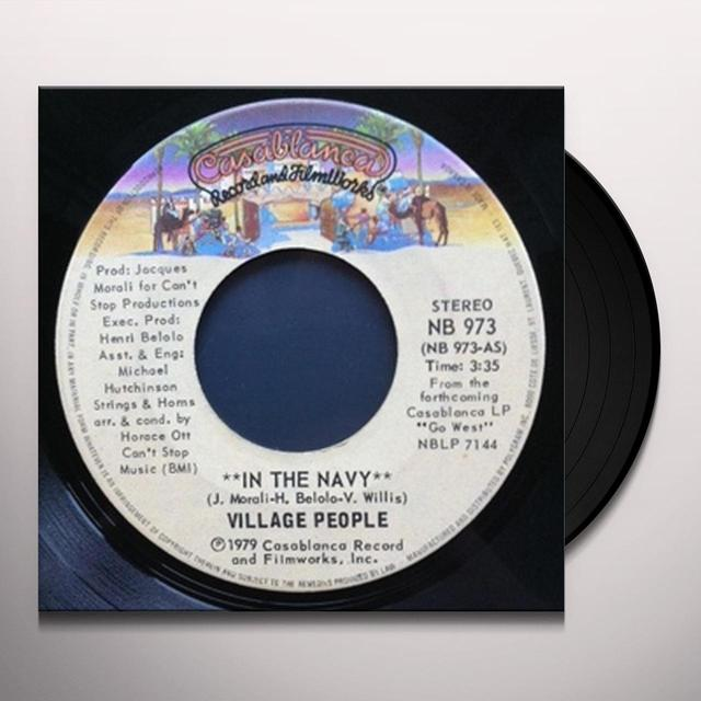 Village People IN THE NAVY Vinyl Record