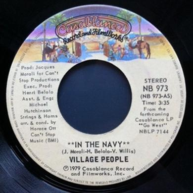 Village People IN THE NAVY Vinyl Record