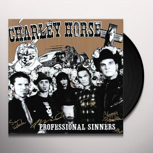 Charley Horse PROFESSIONAL SINNERS Vinyl Record