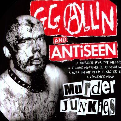 GG ALLIN & ANTISEEN Vinyl Record