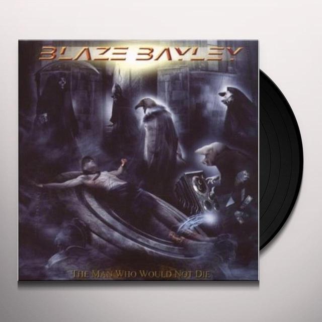 Blaze Bayley MAN WHO WOULD NOT DIE Vinyl Record - 180 Gram Pressing