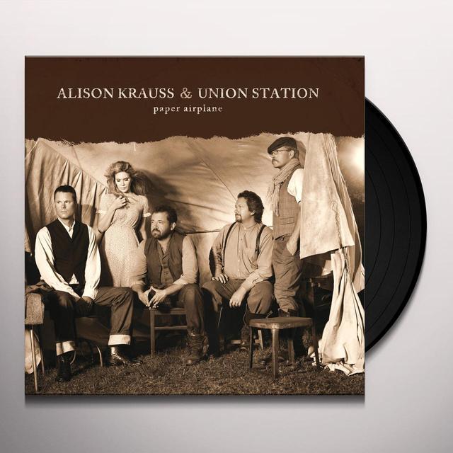 Alison Krauss & Union Station PAPER AIRPLANE Vinyl Record