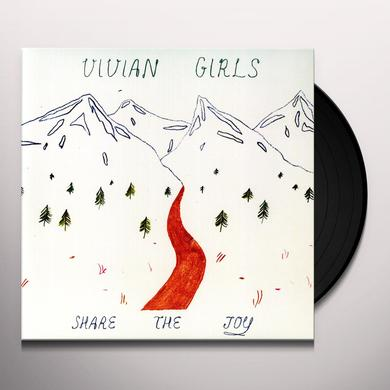 Vivian Girls SHARE THE JOY Vinyl Record - 180 Gram Pressing, MP3 Download Included