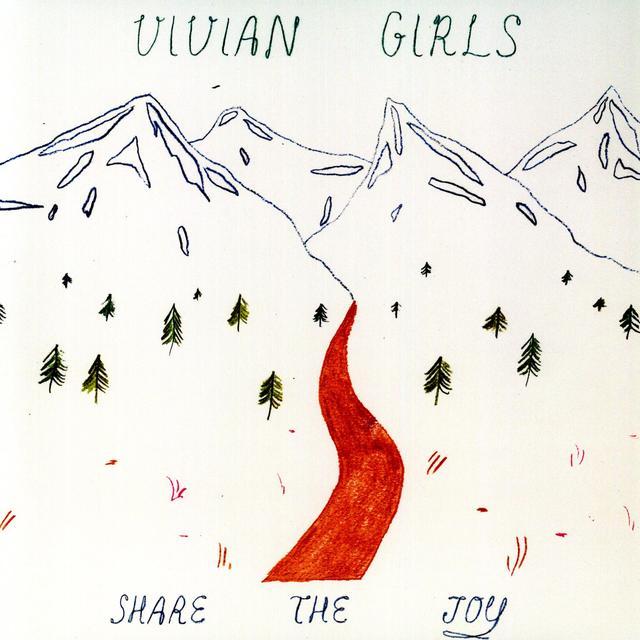 Vivian Girls SHARE THE JOY Vinyl Record - 180 Gram Pressing, MP3 Download Included