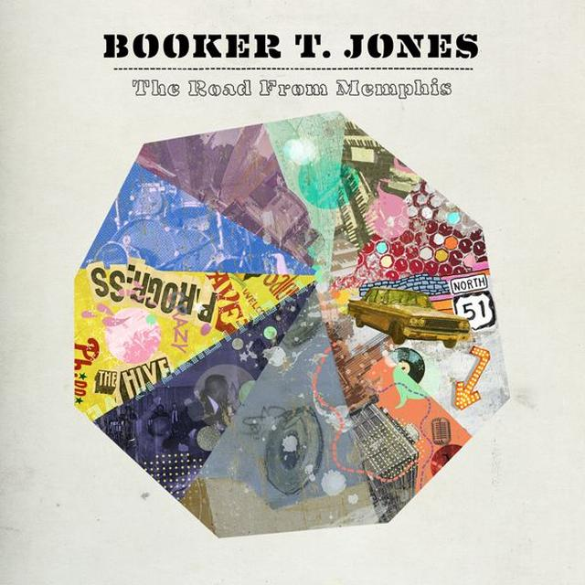 Booker T Jones ROAD FROM MEMPHIS Vinyl Record