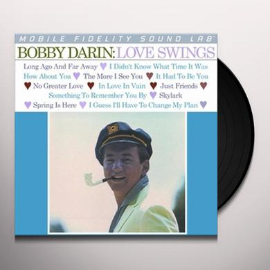 Bobby Darin LOVE SWINGS Vinyl Record