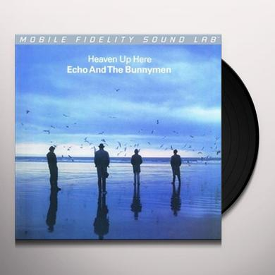 Echo & the Bunnymen HEAVEN UP HERE Vinyl Record