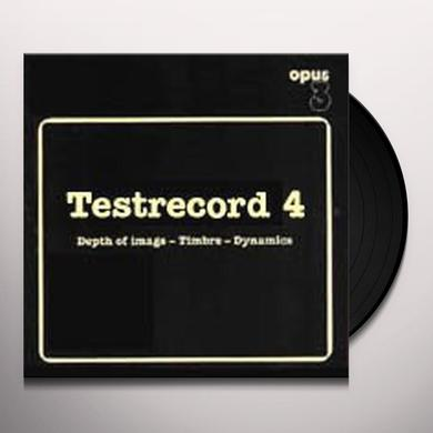 Various Artists (Ogv) TESTRECORD 4: DEPTH OF IMAGE / VARIOUS Vinyl Record