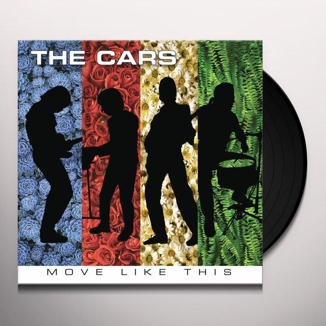 The Cars MOVE LIKE THIS Vinyl Record