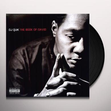Dj Quik BOOK OF DAVID Vinyl Record