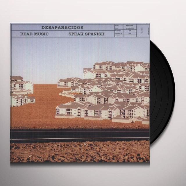Desaparecidos READ MUSIC: SPEAK SPANISH Vinyl Record