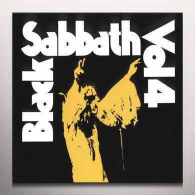 Black Sabbath VOLUME 4 Vinyl Record - Colored Vinyl
