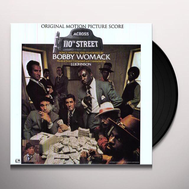 Bobby Womack ACROSS 110TH STREET Vinyl Record - 180 Gram Pressing