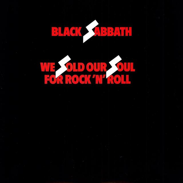 Black Sabbath WE SOLD OUR SOULS FOR ROCK N ROLL Vinyl Record - 180 Gram Pressing