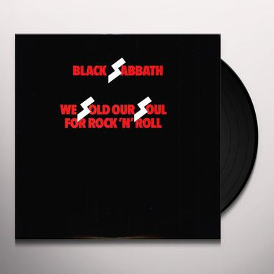 Black Sabbath WE SOLD OUR SOULS FOR ROCK N ROLL Vinyl Record
