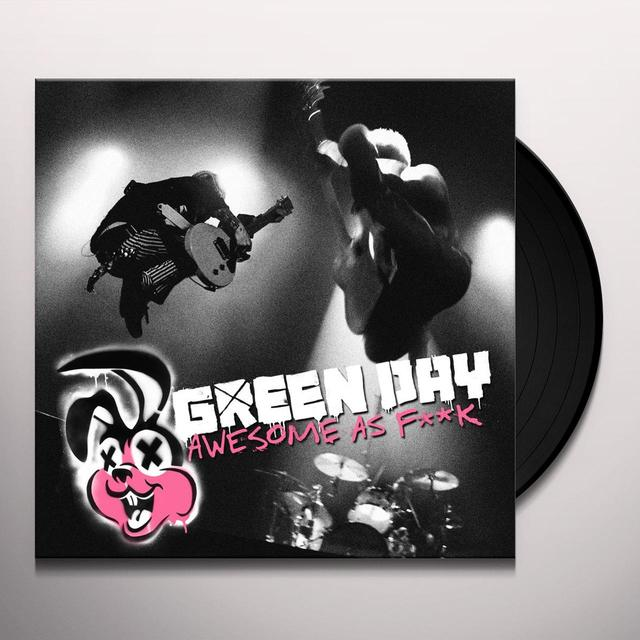 Green Day AWESOME AS F##K Vinyl Record