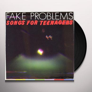 Fake Problems SONGS FOR TEENAGERS Vinyl Record