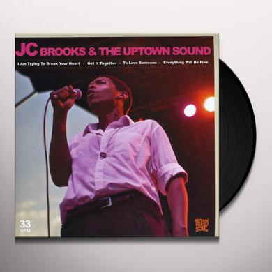Jc Brooks & The Uptown Sound I AM TRYING TO BREAK YOUR HEART (EP) Vinyl Record