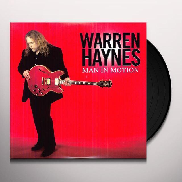 Warren Haynes MAN IN MOTION Vinyl Record