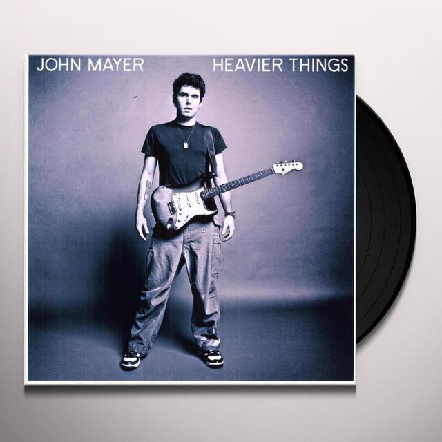 John Mayer HEAVIER THINGS Vinyl Record