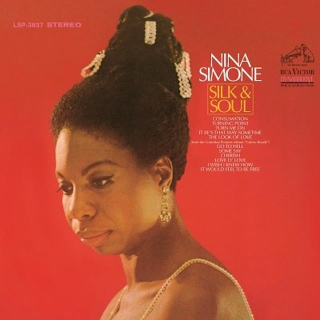 Nina Simone SILK & SOUL Vinyl Record - 180 Gram Pressing