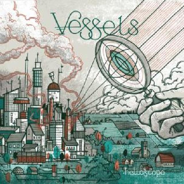 Vessels HELIOSCOPE Vinyl Record - w/CD